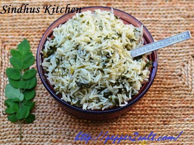 Morniga leaf rice