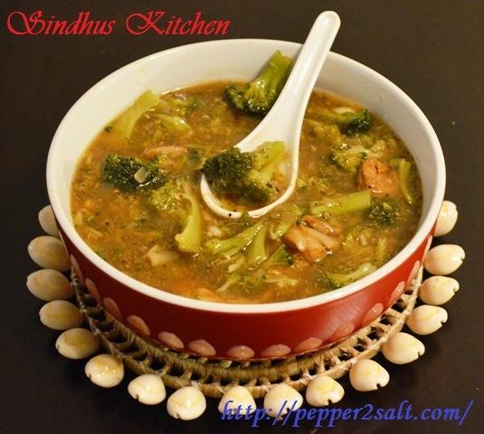 Chicken- Broccoli Soup
