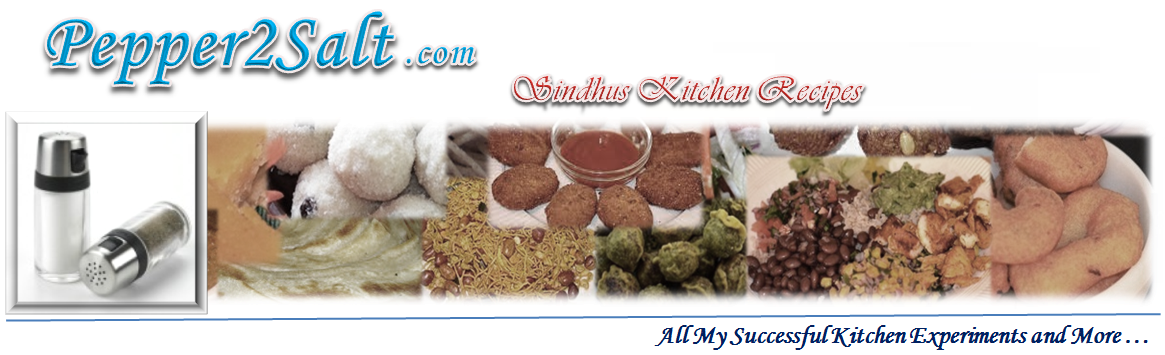 Sindhus Kitchen Recipes