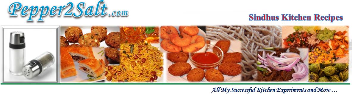 Sindhus Kitchen Recipes