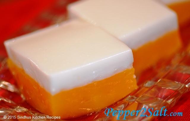 Mango-Coconut Jelly