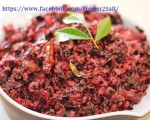 Red Spinach Thoran